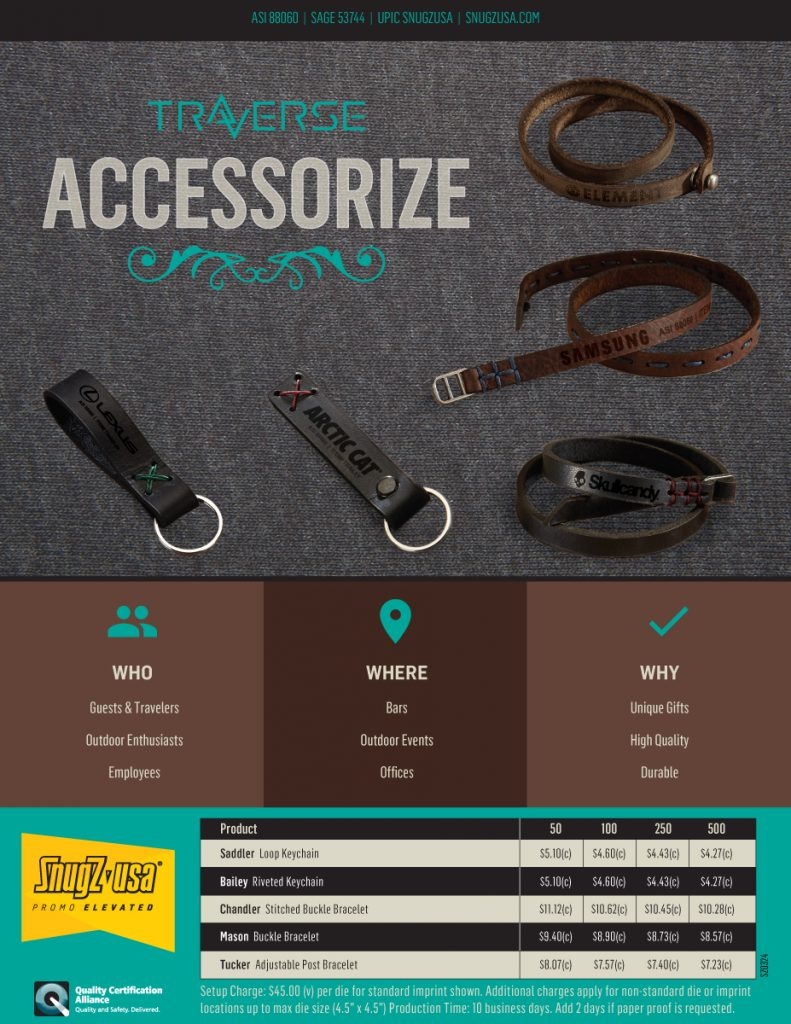 Accessorize with Traverse