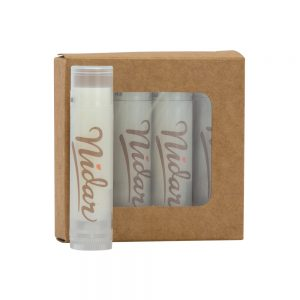Lip Moisturizer 4-Pack in Kraft Window Box - HGS25