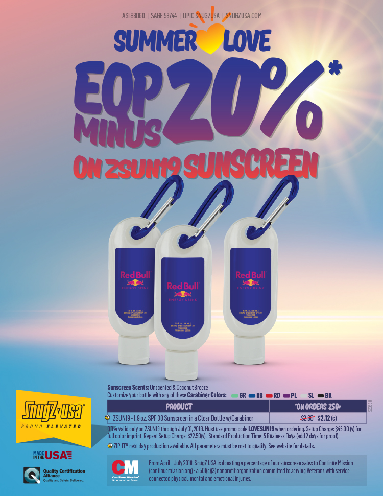EQP Minus 20% on ZSUN19 Sunscreen