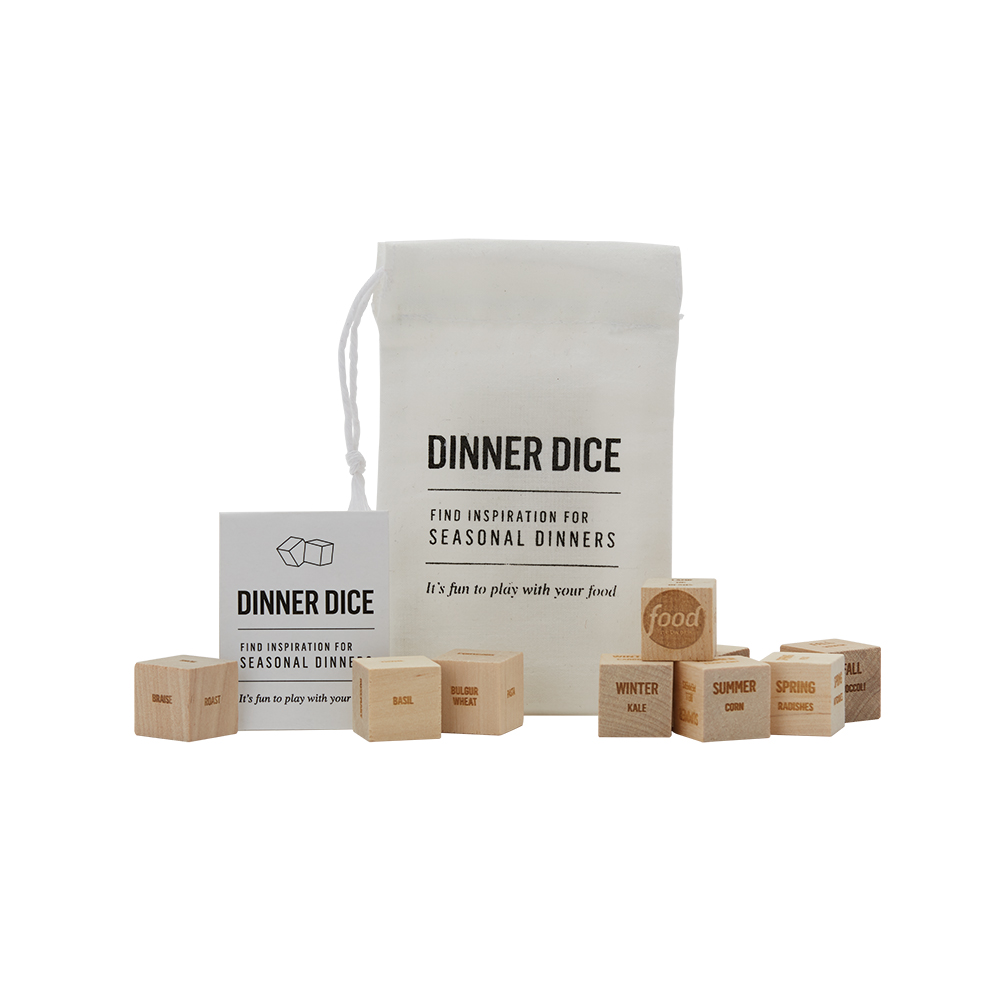 Python Dinner Dice Game