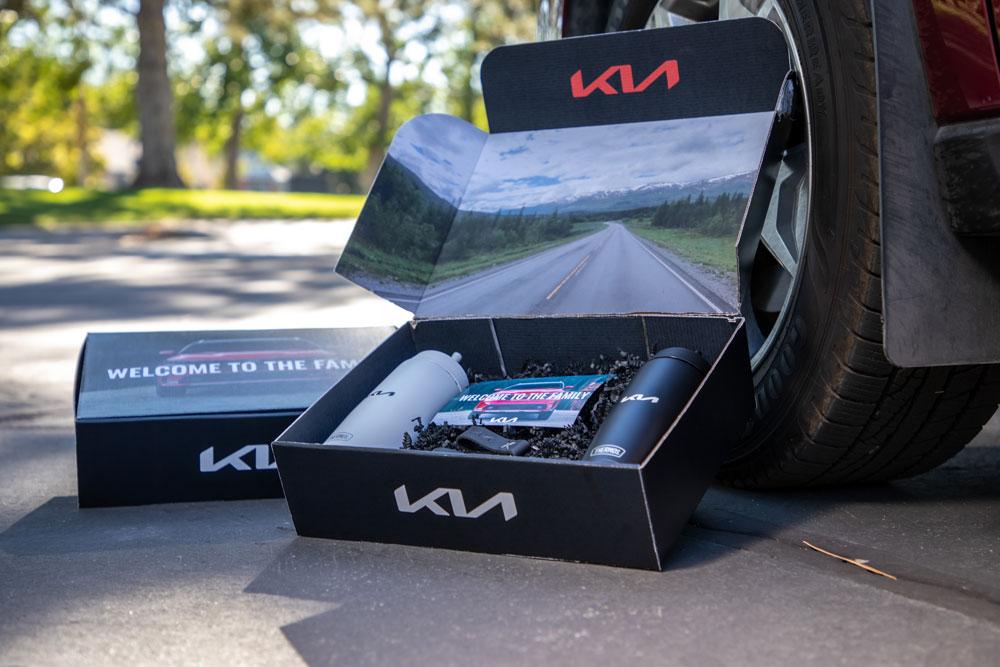Kia Boxcar Custom Packaging