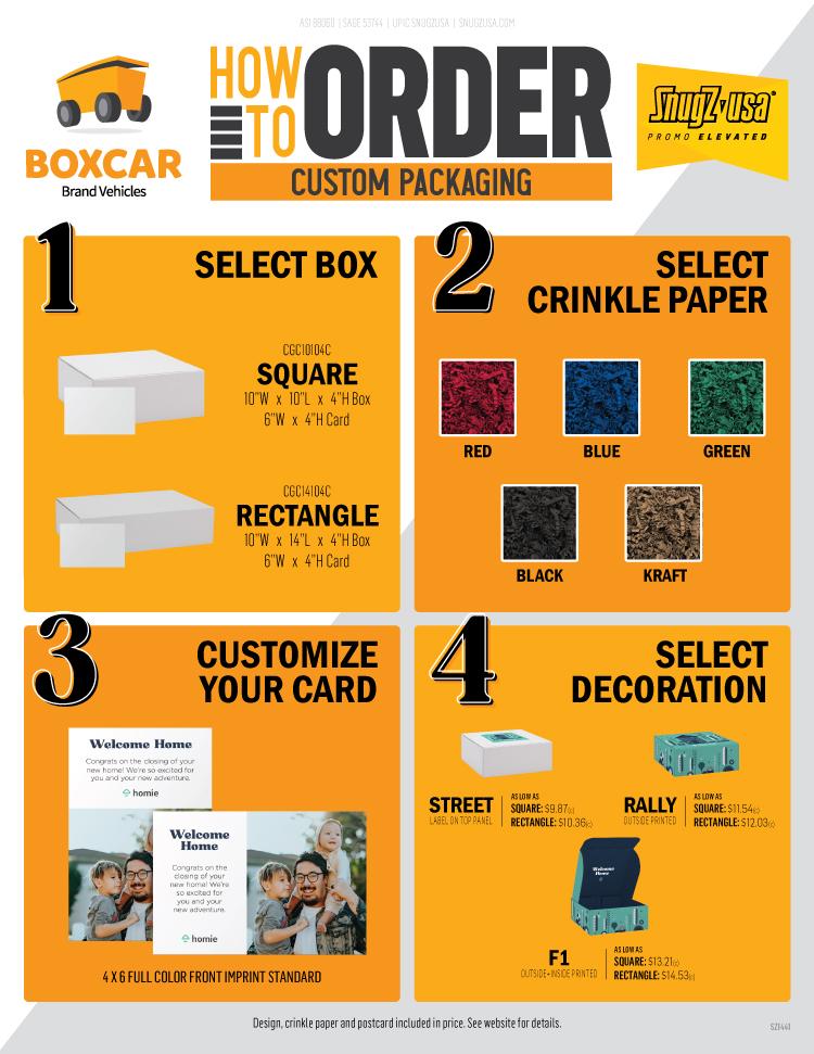 How to Order Custom Packaging