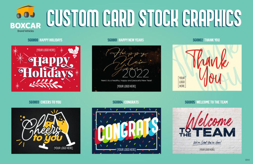 Custom Card Stock Graphics